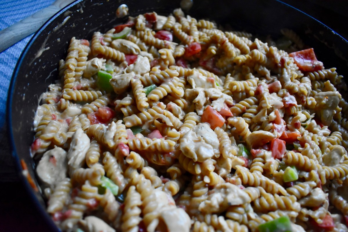One Pot Meal #39: Chicken Fajita Pasta